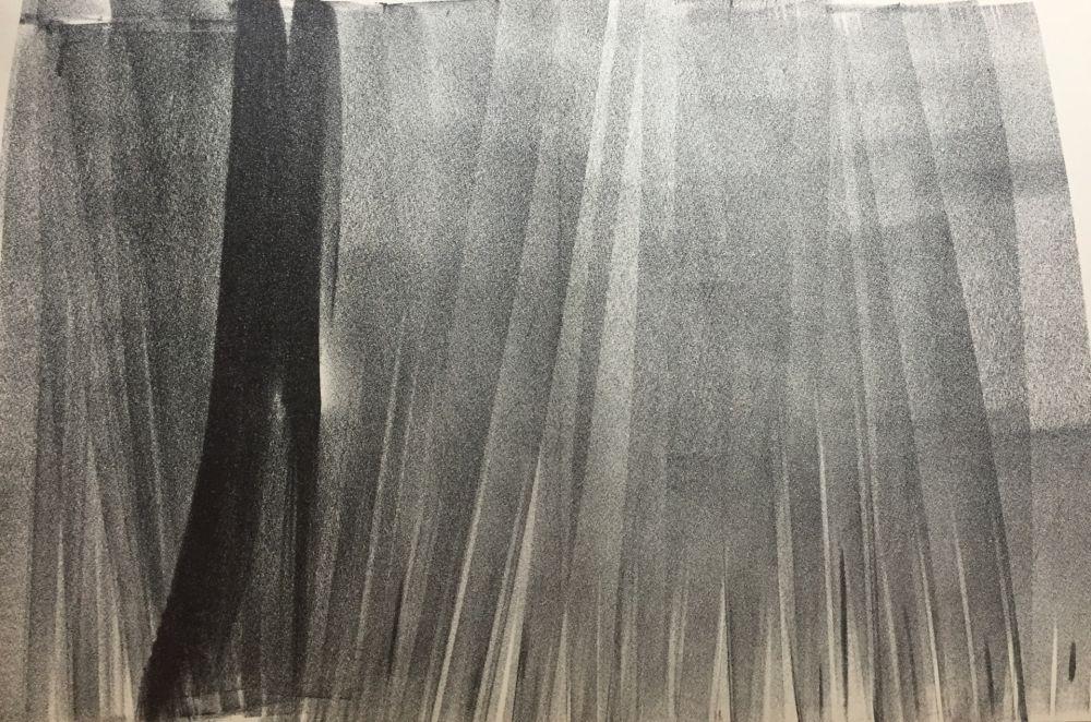 Lithographie Hartung - Farandole I