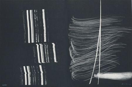 Lithographie Hartung - Farandole III