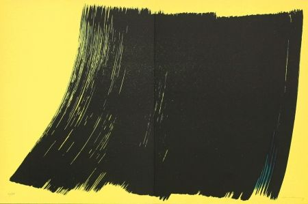 Lithographie Hartung - Farandole IV