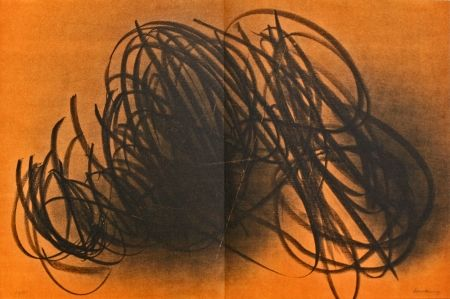 Lithographie Hartung - Farandole IX