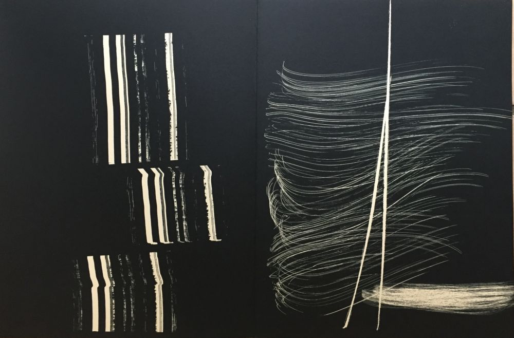 Lithographie Hartung - Farandole J