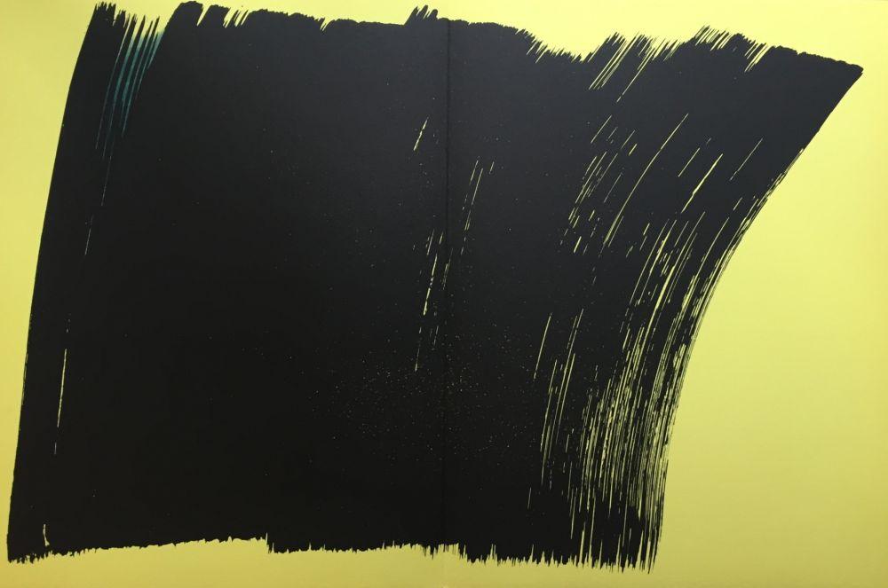 Lithographie Hartung - Farandole K