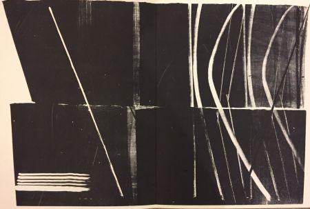 Lithographie Hartung - Farandole N