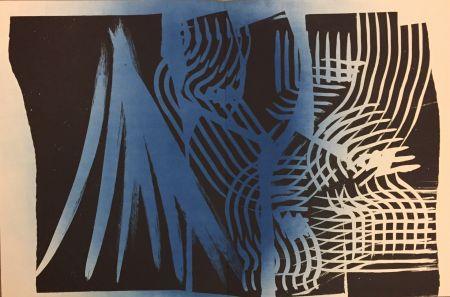 Lithographie Hartung - Farandole O