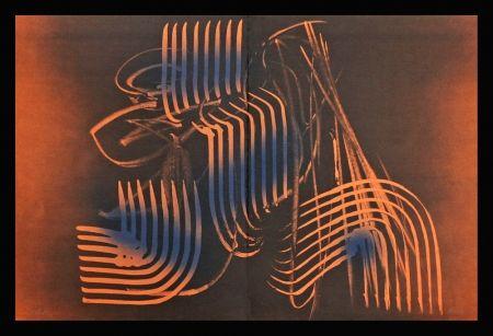 Lithographie Hartung - Farandole VI