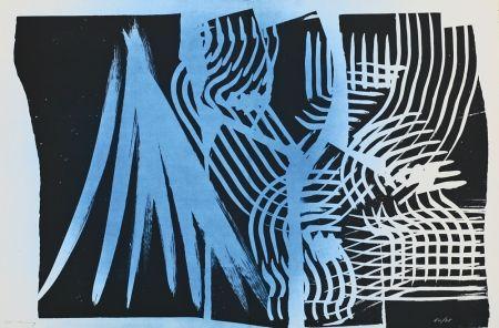 Lithographie Hartung - Farandole XI