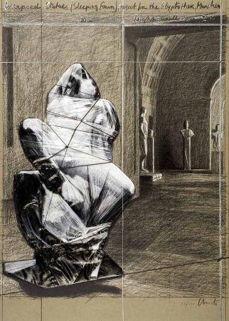 Lithographie Christo - Fauno durmiente