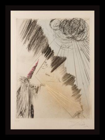 Gravure Dali - Faust Femme au Clown