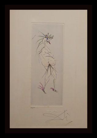 Gravure Dali - Faust Vignettes Grotesque