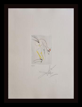 Gravure Dali - Faust Vignettes La Biche=the Dog