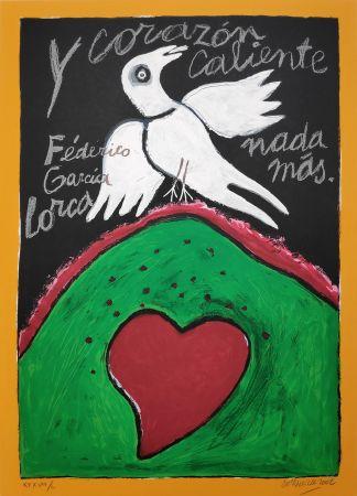 Sérigraphie Corneille - Federico Garcia Lorca
