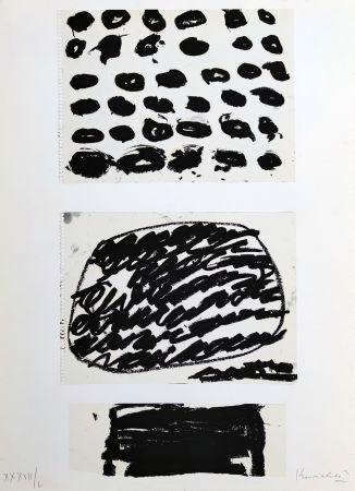 Sérigraphie Kounellis - Federico Garcia Lorca