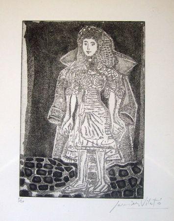 Eau-Forte Vilato - Femme