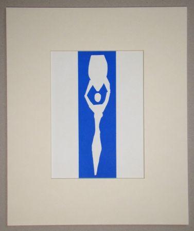 Lithographie Matisse (After) - Femme à l'amphore - 1952