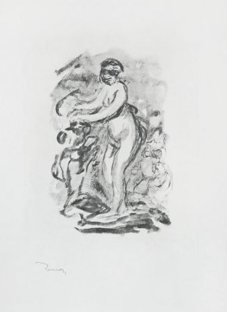 Aucune Technique Renoir - Femme au cep de vigne, I Variante (Woman by the Grapevine, First Variant)