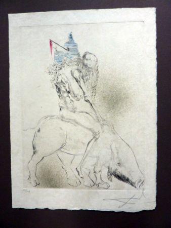Pointe-Sèche Dali - Femme Au Cochon (Faust)