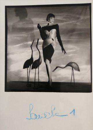 Photographie Horst  - Femme au hérons