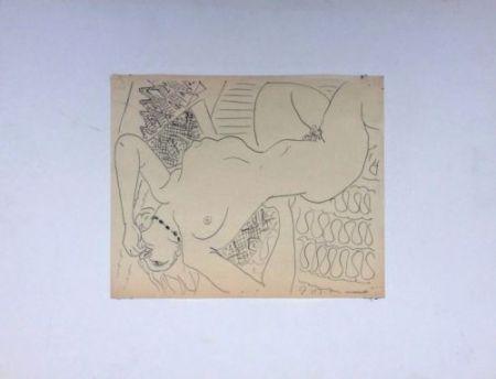 Aucune Technique Matisse - Femme Nue Allongée