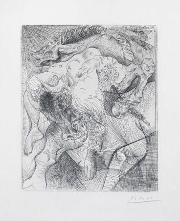 Gravure Picasso - Femme Torero Ii