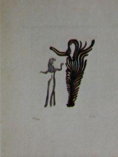 Eau-Forte Et Aquatinte Fenosa - Femmes arbres