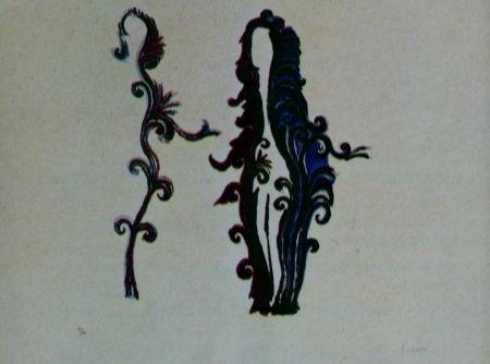Lithographie Fenosa - Femmes fleurs
