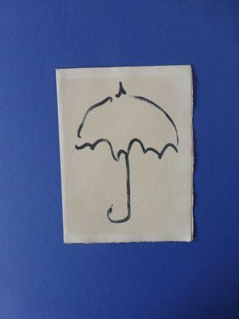 Livre Illustré Alechinsky - Fermer enfin son parapluie