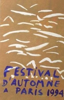 Lithographie Aillaud - Festival automne