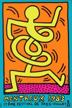 Affiche Haring - Festival de Jazz – Juillet