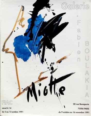 Affiche Miotte - Fiac
