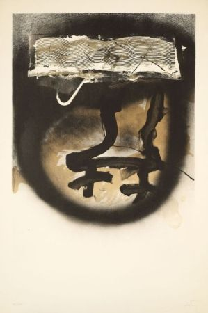 Lithographie Tàpies - FIAC 1983