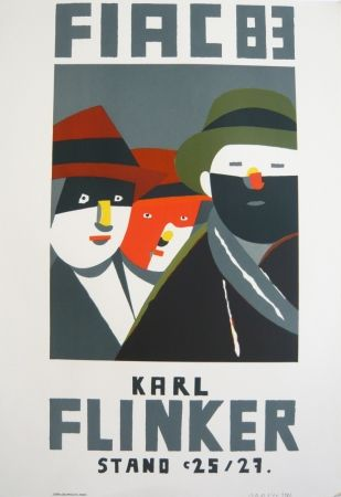 Lithographie Arroyo - FIAC 1983