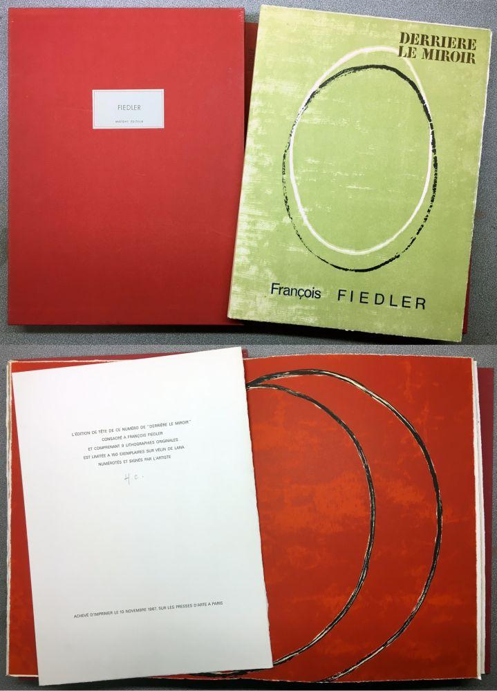 Livre Illustré Fiedler - FIEDLER. DERRIÈRE LE MIROIR N°167. Octobre 1967. TIRAGE DE LUXE.