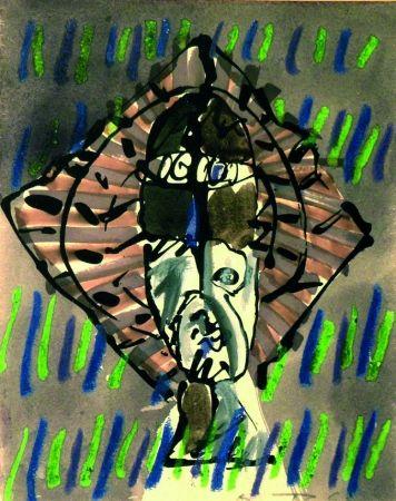 Lithographie Ortega - Figura