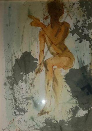Lithographie Dali - Figura