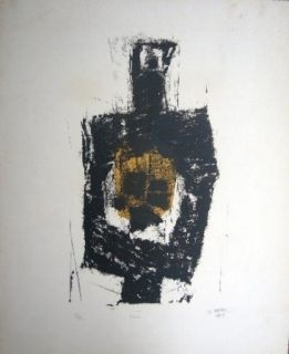Lithographie Ubac - Figure