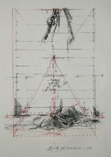 Gravure Velickovic - Figure B