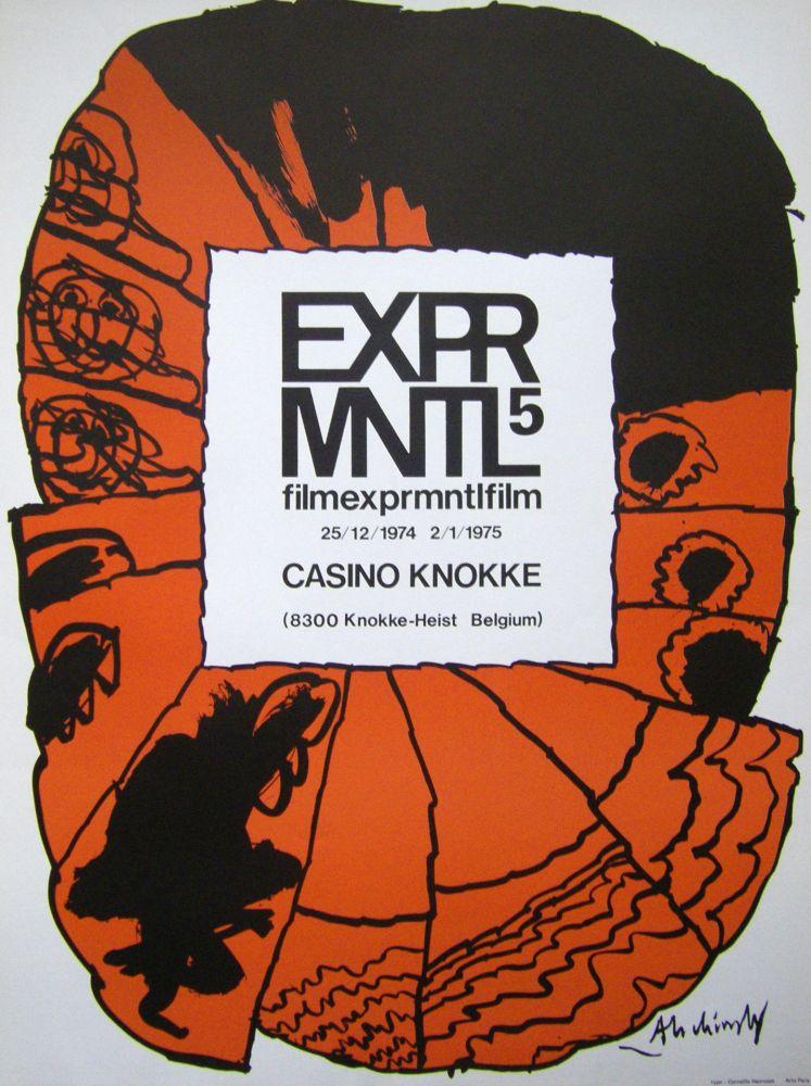 Affiche Alechinsky - Filmexprmntlfilm