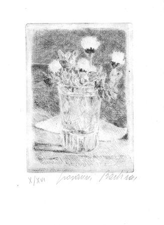 Eau-Forte Barbisan - Fiori nel bicchiere