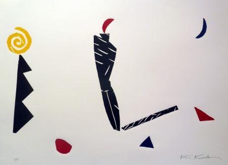 Linogravure Kuroda - First Night