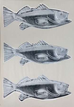 Sérigraphie Warhol - FISH FS IIIA.39