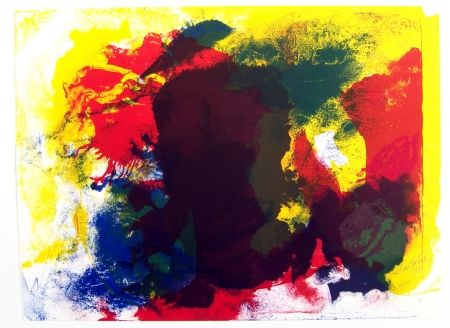 Lithographie Jenkins - Five Invocations Ii