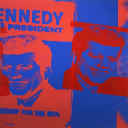Sérigraphie Warhol - FLASH - NOVEMBER 22, 1963 FS II. 42
