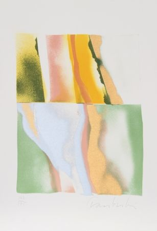Lithographie Chamberlain - Flashback VI