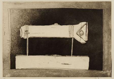 Aucune Technique Johns - Flashlight, 1st Etchings, 2nd State
