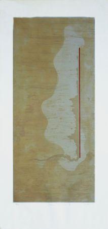 Gravure Sicilia - Fleur rouge VI