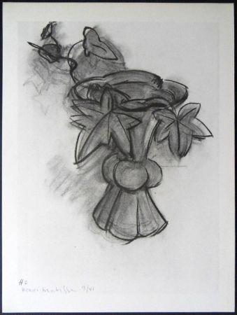 Lithographie Matisse - Fleurs