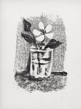 Lithographie Picasso - Fleurs Dans Un Verre #6