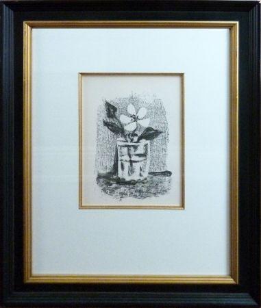 Lithographie Picasso - Fleurs Daus Un Verre