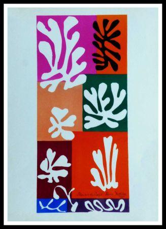 Lithographie Matisse - FLEURS DE NEIGNE