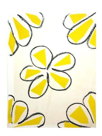 Lithographie Matisse - Fleurs Jaune